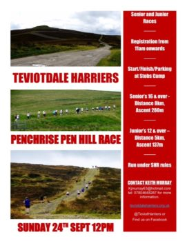 Penchrise Hill Race @ Stops Camp