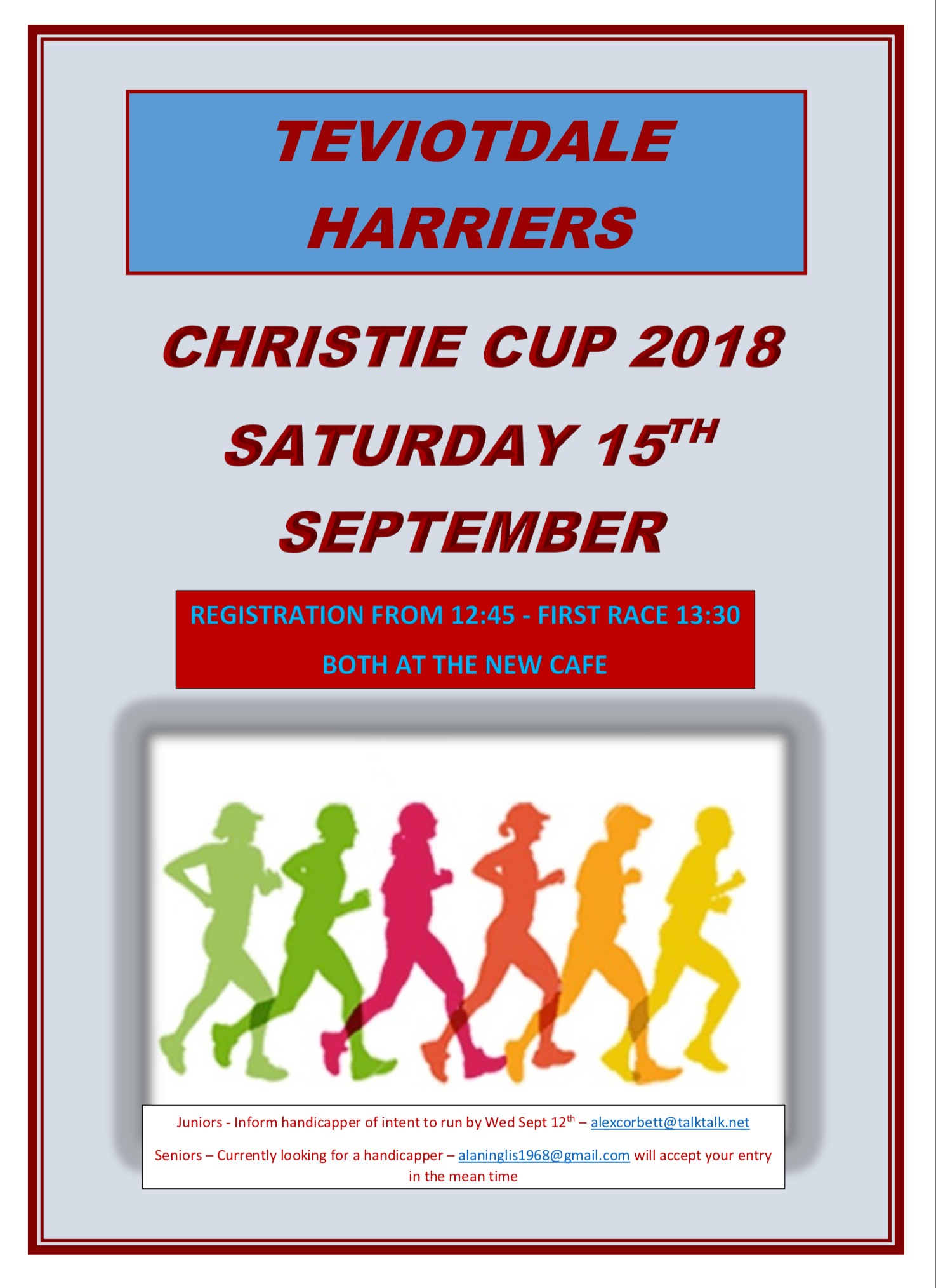 Christie Cup @ New Cafe, Wilton Lodge Park